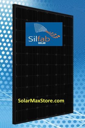 Silfab 280 Watt Mono Solar Panel Sla280m All Black 60 Cell