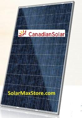 Cs6p 240p Canadian Solar 240 W Solar Panel Silver Frame