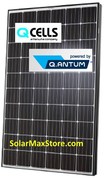 Hanwha Q Cells Usa 305w Mono Solar Panel Q Peak Blk G4 1
