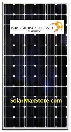 325w Mono Solar Panel Mission Solar Mse325s 1a Solarmax
