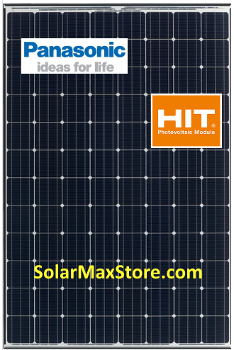 Panasonic Hit 330 W Mono Solar Panel Vbhn330sa16 Black