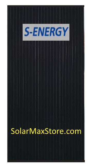 S Energy 300 W Mono Solar Panel Sn300m 10 Black Frame