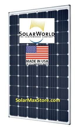 Solarworld 325w Sunmodule Mono Solar Panel Sw325 Xl Mono