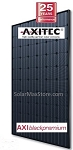 Axitec 270 Watt Mono Solar Panel - All Black - AC-270M/156-60S