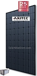 Axitec 250w Poly Solar Panel - All Black - AC-250M/156-60S