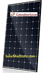 Canadian Solar 300 Watt Mono-PERC Solar Panel | 60-Cell | Black Frame - BoW