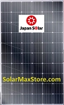 Japan Solar 300 Watt Mono Solar Pane | Black Frame, BoW | 60-Cell