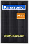 Panasonic HIT 315W Mono Solar Panel - Black Frame - BoB