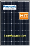 Panasonic HIT 330 W Mono Solar Panel - Black Frame | White Backsheet - BoW