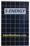 S-Energy 250 Watt Multicrystalline Solar Panel - Black Frame