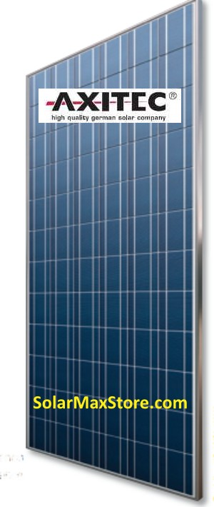 Axitec AxiPower 330W POLY Solar Panel | Silver Frame | 72 Cells