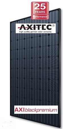 Axitec 250 Watt Mono Solar Panel - All Black