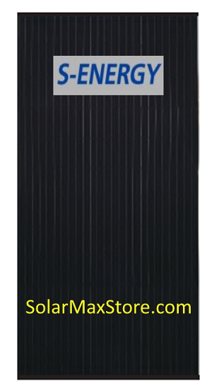 S-Energy 350 W Mono Solar Panel | Black Frame | Black Backsheet - BoB | 72 cell