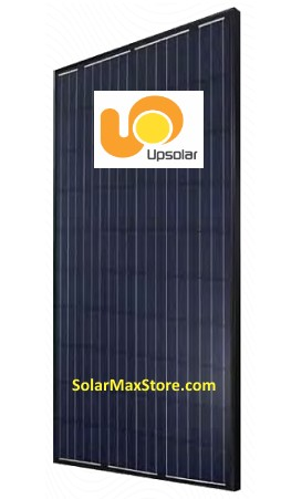 UPSOLAR 290 Watt 60 Cell All Black Mono Solar Panel | BoB