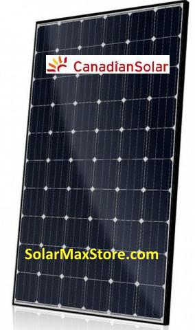 Power Canadian Solar 300w Mono Perc Solar Panel Cs6k