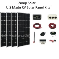 U.S. Made 12 Volt Roof Mount Solar Kits