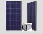 Canadian Solar 310 Watt Poly Solar Panel - Clear/Wht (1 Pallet - 24 Panels)