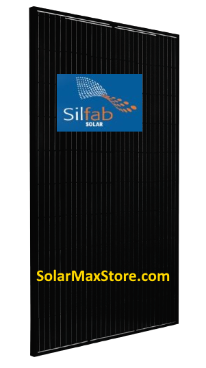 Silfab 310 W 60 Cell Mono Solar Panel Sil 310 Nl Black