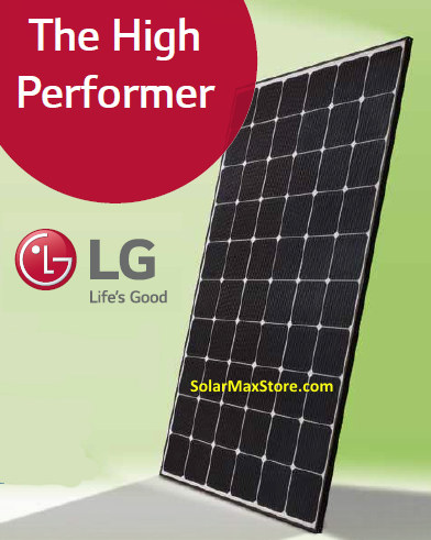 Lg 350 Watt Neon R Mono N Type Solar Panel Solarmax
