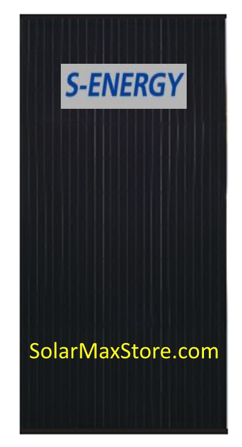 S Energy 350 W Mono Solar Panel Sn350m 10 Black Frame