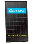 HT-SAAE 310 Watt Mono Solar Panel | Black Frame | Black Backsheet (BoB) | 60-Cell