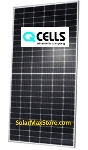 Hanwah QCell 390 Watt Q.Peak Duo L-G5.2 Mono Solar Panel | Clear Frame | White Backsheet, BoW | 144 Cells