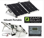 Zamp Solar 160 Watt Portable Solar Charging Kit | ZS-US-160-P