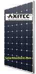 Axitec AxiPremium HC 320 Watt Mono Solar Panel | Black Frame, White Backsheet | 60 Cell HC