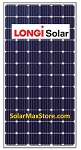 Longi 345 Watt Mono Solar Panel | Clear Frame | White Backsheet | 72 Cell