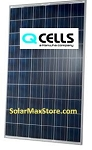 Hanwha Q CELLS PLUS USA 275W Poly Solar Panel - Black Frame