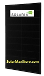 Solaria 330 Watt 60-Cell All Black Mono Solar Panel | Black Frame | BoB