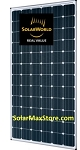 SolarWorld 300 Watt Sunmodule Plus Mono Solar Panel - Black Frame - BoW - 60 Cell