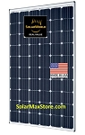 SolarWorld 295 Watt 60-Cell Sunmodule Plus Mono Solar Panel - Black Frame