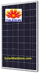 Talesun 320 Watt Poly Solar Panel - Silver Frame - White Backsheet - 72 Cell