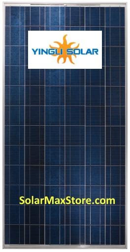 Yingli 290 Watt Poly Solar Panel Yl290pt 35b