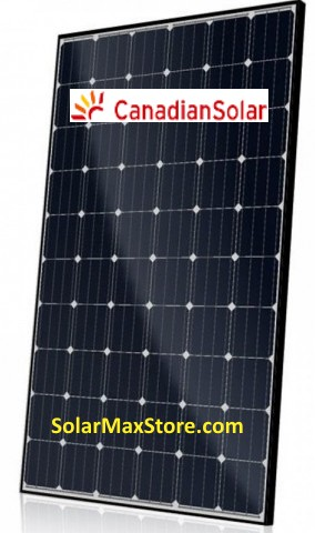 Canadian Solar 275 Watt Mono Solar Panel - 60 Cell - BOW