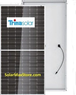 Trina TallMax 400W Mono Solar Panel | Clear Frame | White Backsheet, BoW | 144 Cell