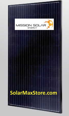 Mission Solar Energy 300 Watt Perc Mono Solar Panel All