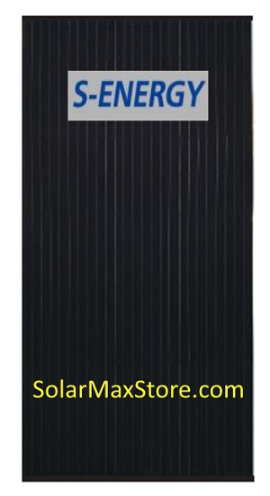 S-Energy 320 Watt Mono Solar Panel | Black Frame | Black Backsheet - BoB | 60 Cell