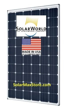 SolarWorld 325 Watt Mono Solar Panel - Silver Frame | 72-Cell
