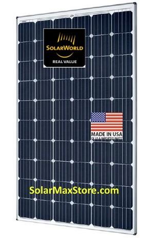 Solarworld 295w 60 Cell Sunmodule Plus Mono Solar Panel