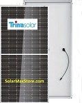 Trina TallMax 400W Mono Solar Panel | Clear Frame | White Backsheet, BoW | 144 Cell | CLEARANCE