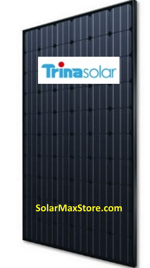 TrinaSolar 280 Watt 60-Cell Mono Solar Panel - All Black