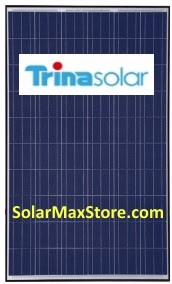 TrinaSolar 290 Watt Poly Solar Panel - Silver Frame - 72 Cell