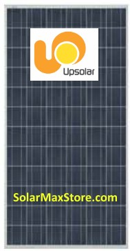 UPSOLAR 280 Watt Poly Solar Panel - Silver Frame - 72 Cell